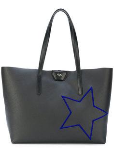 сумка-тоут с вышивкой звезды Gum