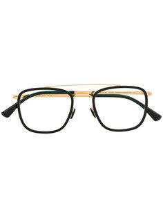 очки с двойной планкой Mykita