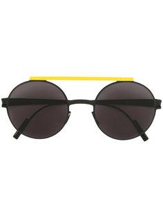 солнцезащитные очки с двойной планкой Mykita