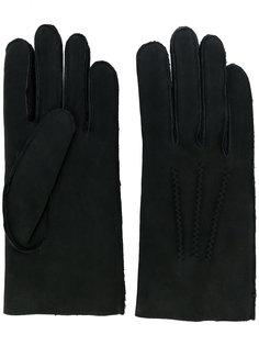 перчатки со строчкой A.P.C.