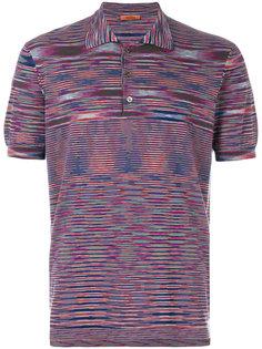 футболка-поло в полоску Missoni
