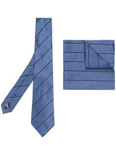 комплект из галстука и платка паше Armani Collezioni
