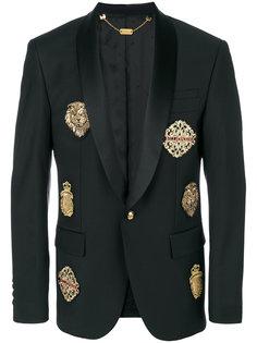 пиджак с нашивками Billionaire