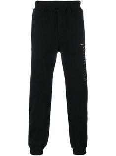 спортивные брюки с принтом логотипа Billionaire