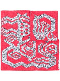шарф вязки интарсия Bernhard Willhelm