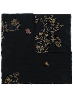 шарф с вышивкой Bush Bugs Janavi