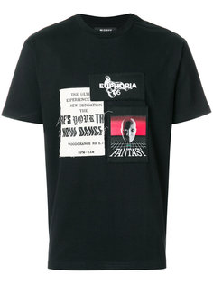 футболка с нашивками Misbhv