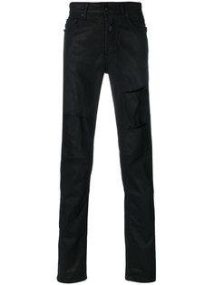 джинсы с вырезными деталями Marcelo Burlon County Of Milan