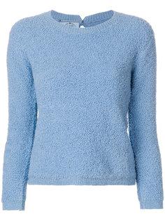 текстурированный свитер Prada