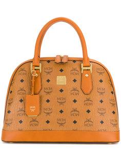 сумка на плечо с принтом логотипа MCM