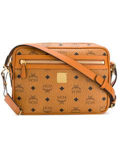 сумка через плечо с принтом логотипа MCM