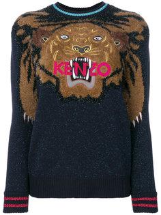 джемпер Tiger Christmas с вышивкой Kenzo