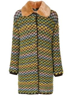 твидовое пальто  Twin-Set