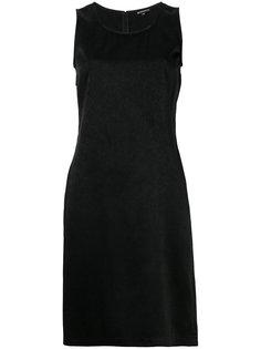 платье шифт без рукавов  Ann Demeulemeester