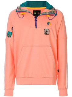 толстовка Pharrell Williams Hu Hiking с капюшоном Adidas By Pharrell Williams