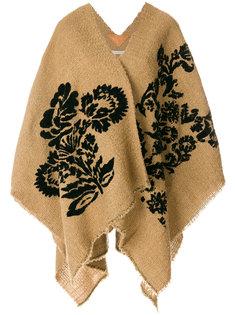 фактурное пальто с запахом  Ermanno Gallamini