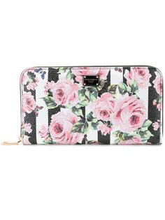кошелек с цветочным принтом Dolce & Gabbana
