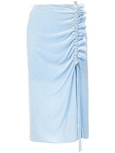 асимметричная юбка с оборками Cédric Charlier