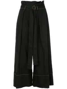 укороченные широкие  брюки Kitx