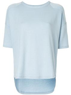 асимметричная футболка с короткими рукавами  Rag & Bone