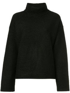 флисовый свитер с горловиной-воронка 08Sircus