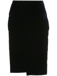юбка-карандаш со строчкой 08Sircus