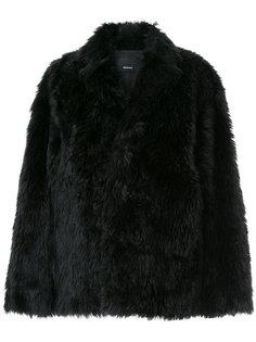 объемная куртка из искусственного меха 08Sircus