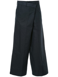 укороченные широкие брюки 08Sircus