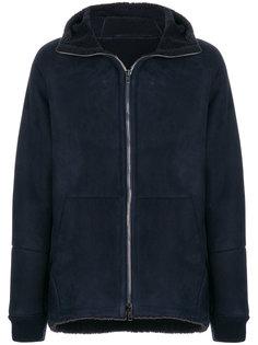 байкерская куртка на молнии Salvatore Santoro