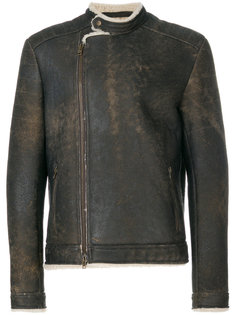 пальто из овчины Salvatore Santoro