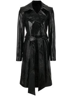 лакированное пальто Helmut Lang
