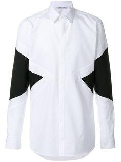 рубашка с панельным дизайном Neil Barrett