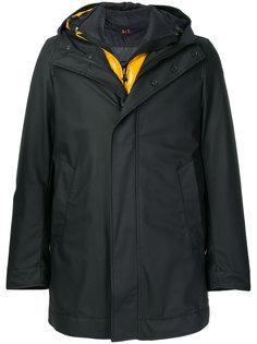 многослойное пальто-пуховик Rrd