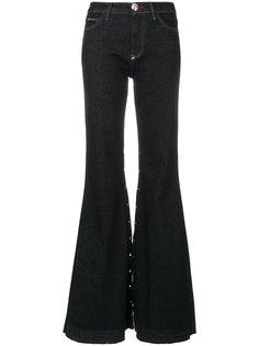 расклешенные джинсы Philipp Plein