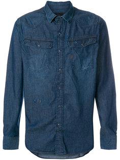джинсовая рубашка с нагрудным карманом G-Star