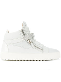 Coby hi-top crystal sneakers Giuseppe Zanotti Design
