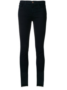джинсы скинни с бахромой J Brand