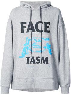 толстовка с принтом-логотипом Facetasm