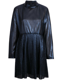платье с плиссировкой и эффектом металлик Federica Tosi