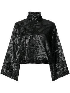 укороченная блузка с рукавами-кимоно Federica Tosi