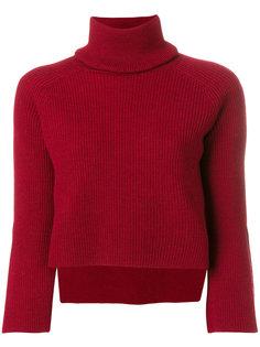 укороченная блузка в рубчик Federica Tosi