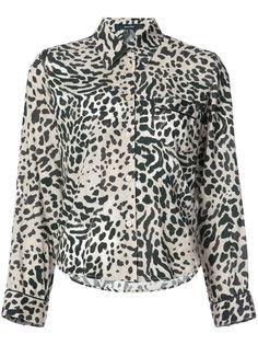 рубашка с леопардовым принтом Smythe