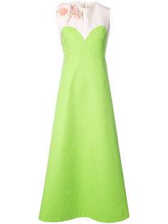 вечернее платье с пайетками Delpozo