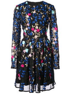 Fit and Flare cocktail dress Badgley Mischka