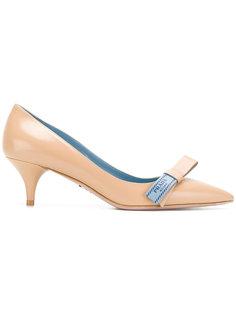 туфли-лодочки с бантом Prada