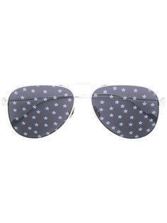 солнцезащитные очки-авиаторы со звездами Saint Laurent