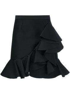 мини юбка с оборками Stella McCartney