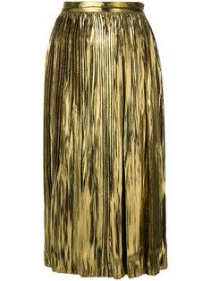 плиссированная юбка из люрекса Mes Demoiselles