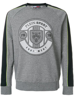 толстовка с принтом логотипа Plein Sport