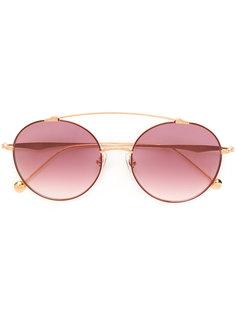 gradient round sunglasses Matsuda